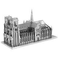 Metal Earth 3D puzzle Katedrála Notre-Dame (ICONX) - 3D puzzle