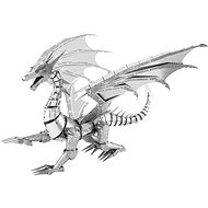 Metal Earth 3D puzzle Silver Dragon (ICONX) - 3D Puzzle