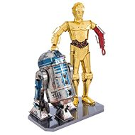 Metal Earth 3D puzzle Star Wars: R2D2 a C-3PO (deluxe set) - 3D puzzle