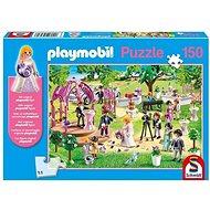 Puzzle Schmidt Puzzle Playmobil Svatba 150 dílků + figurka Playmobil - Puzzle