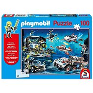 Puzzle Schmidt Puzzle Playmobil Top Agenti 100 dílků + figurka Playmobil - Puzzle