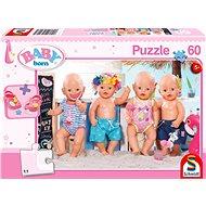 Schmidt Puzzle Baby Born: Léto 60 dílků + dárek