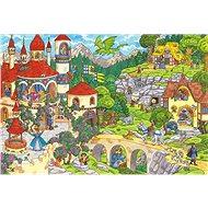 Puzzle Schmidt Puzzle Pohádkové království 100 dílků - Puzzle