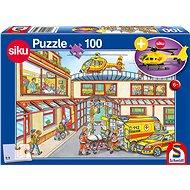 Schmidt Puzzle Záchranáři 100 dílků + model SIKU - Puzzle