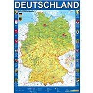 Schmidt Puzzle Mapa Německa 1000 dílků