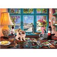 Schmidt Puzzle Stůl milovníka puzzle 1000 dílků