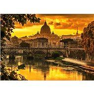 Schmidt Puzzle Zlaté světlo nad Římem 1000 dílků - Puzzle