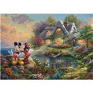 Schmidt Puzzle Miláčci Mickey a Minnie 1000 dílků - Puzzle