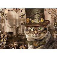 Puzzle Schmidt Puzzle Steampunk: Kočka 1000 dílků - Puzzle