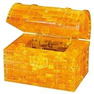 HCM Kinzel 3D Crystal puzzle Pokladnička truhla s klíčem 52 dílků - 3D puzzle