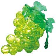 HCM Kinzel 3D Crystal puzzle Hroznové víno zelené 46 dílků - 3D puzzle