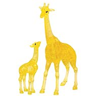HCM Kinzel 3D Crystal puzzle Žirafa s mládětem 38 dílků - 3D puzzle