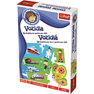 Trefl Little Discoverer: Vehicles - Board Game