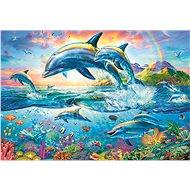 Trefl Puzzle Rodina delfínů 1500 dílků