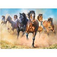 Trefl Puzzle Cválající koně 2000 dílků - Puzzle