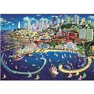 Trefl Puzzle Přístav v San Franciscu 2000 dílků - Puzzle
