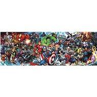 Trefl Panoramatické puzzle Svět Marvelu 1000 dílků - Puzzle