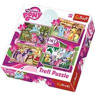 Trefl Puzzle My Little Pony 4v1 (35,48,54,70 dílků)