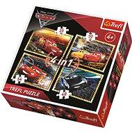 Trefl Puzzle Auta 3: Závodíme 4v1 (35,48,54,70 dílků)