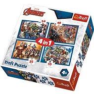 Trefl Puzzle Avengers: Jsme tým 4v1 (35,48,54,70 dílků) - Puzzle