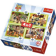 Trefl Puzzle Toy Story 4: Toy Story 4in1 (35,48,54,70 pieces) - Puzzle