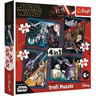 Trefl Puzzle Star Wars: Vzestup Skywalkera 4v1 (54,80,104,104 dílků) - Puzzle