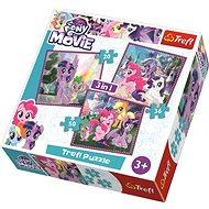 Trefl Puzzle My Little Pony Film 3v1 (20,36,50 dílků)