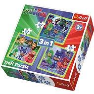 Trefl Puzzle Pyžamasky 3v1 (20,36,50 dílků)