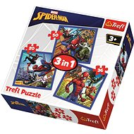 Trefl Puzzle Spiderman 3v1 (20,36,50 dílků) - Puzzle