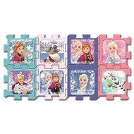 Trefl Pěnové puzzle Ledové království: Přátelé - Pěnové puzzle