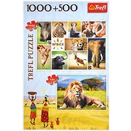 Trefl Puzzle Safari 1000 + 500 dílků