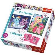 Trefl Puzzle My Little Pony 30+48 dílků + pexeso
