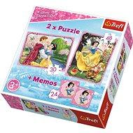 Trefl Puzzle Disney Sněhurka 30+48 dílků + pexeso