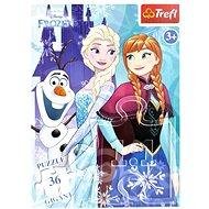Trefl Puzzle Ice Kingdom GIGANT 36 pieces - Puzzle