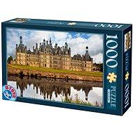 D-TOYS Puzzle Zámek Chambord, Francie 1000 dílků - Puzzle