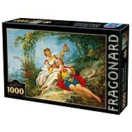 D-TOYS Puzzle Šťastní milenci 1000 dílků - Puzzle