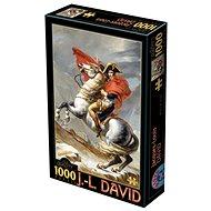 D-TOYS Puzzle Napoleon při přechodu přes Alpy 1000 dílků - Puzzle