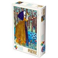 D-TOYS Puzzle Princezna a žabák 1000 dílků - Puzzle