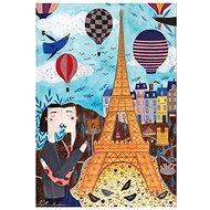 D-TOYS Puzzle Paříž 1000 dílků - Puzzle