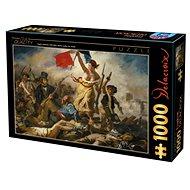 D-TOYS Puzzle Svoboda vede lid na barikády 1000 dílků - Puzzle