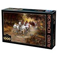 D-TOYS Puzzle Venkovská svatba 1000 dílků - Puzzle