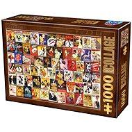 D-TOYS Puzzle Kabaret 1000 dílků - Puzzle
