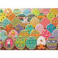 Cobble Hill Puzzle Velikonoční perníková vajíčka 1000 dílků - Puzzle