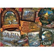 Cobble Hill Puzzle Chatové štítky 1000 dílků - Puzzle