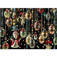 Cobble Hill Puzzle Vánoční ozdoby 1000 dílků - Puzzle