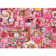 Cobble Hill Puzzle Barvy duhy: Růžová 1000 dílků - Puzzle