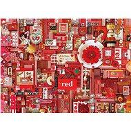 Cobble Hill Puzzle Barvy duhy: Červená 1000 dílků - Puzzle