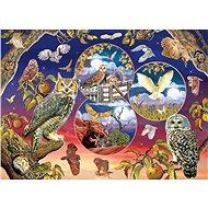Cobble Hill Puzzle Kouzlo sovy 1000 dílků - Puzzle