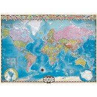 Eurographics Puzzle Mapa světa 1000 dílků - Puzzle