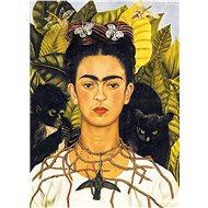 Eurographics Puzzle Portrét Frídy Kahlo s trnovým náhrdelníkem 1000 dílků - Puzzle